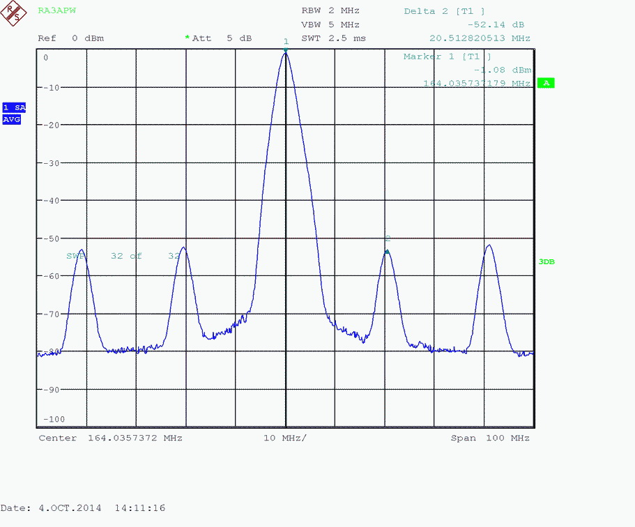 PLL602_Spectr_164M_100M